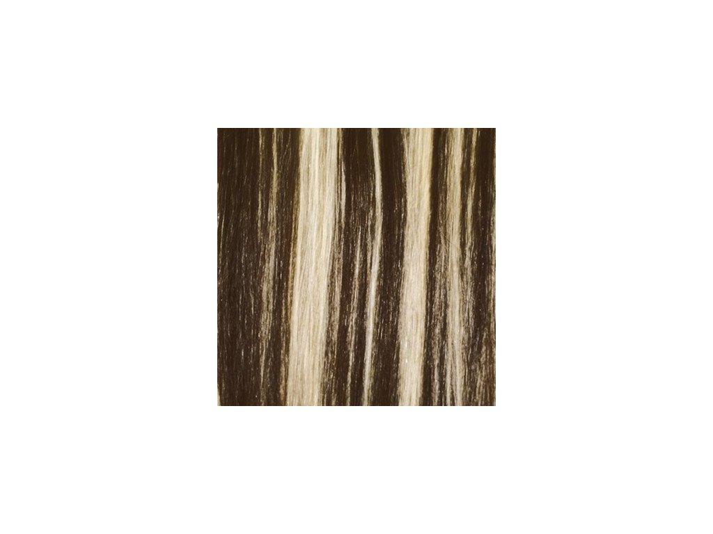 Exkluzívne clip in vlasy - odtieň 2/613  dlhé 50cm váha vlasov 100g