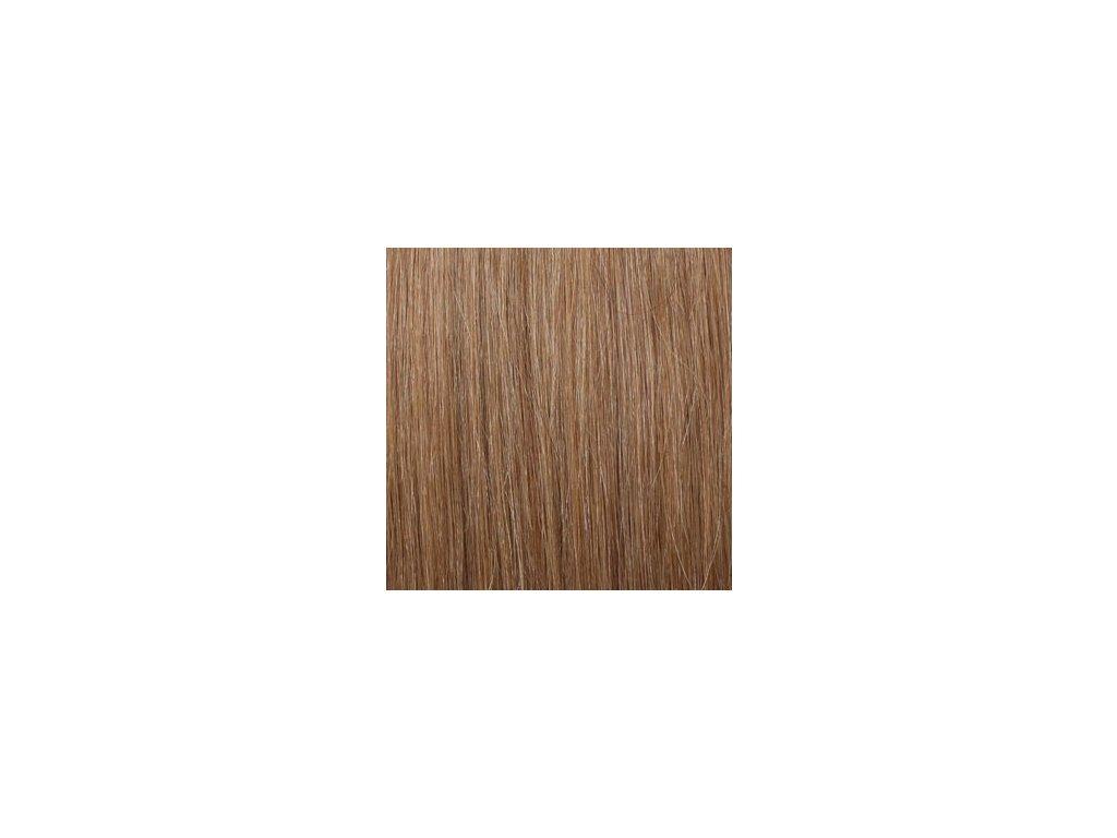Exkluzívne clip in vlasy - odtieň 27 dlhé 50cm váha vlasov 100g