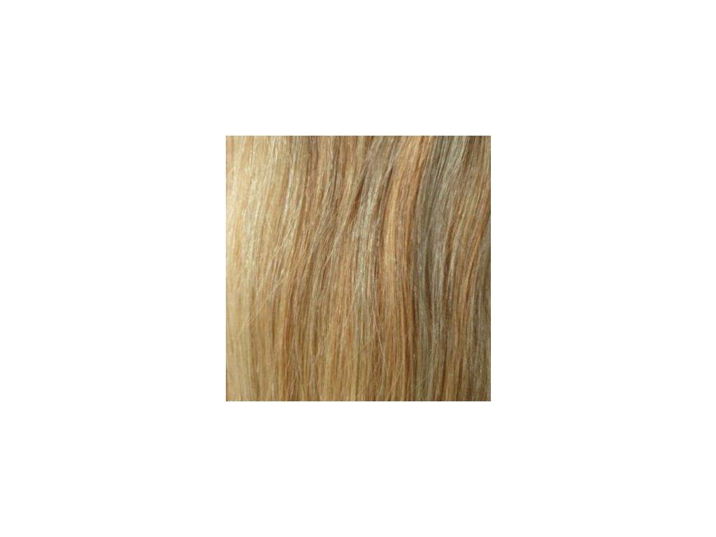 Exkluzívne clip in vlasy - odtieň 27/613  dlhé 50cm váha vlasov 100g