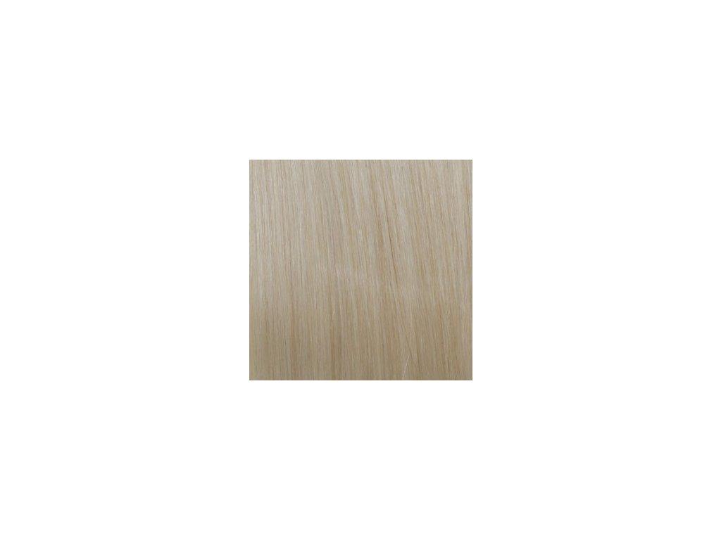 Exkluzívne clip in vlasy - odtieň 60 dlhé 60cm váha vlasov 120g