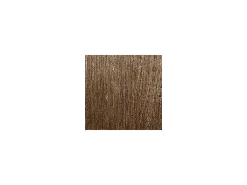 Micro loop remy vlasy 60cm 16 svetlá hnedá