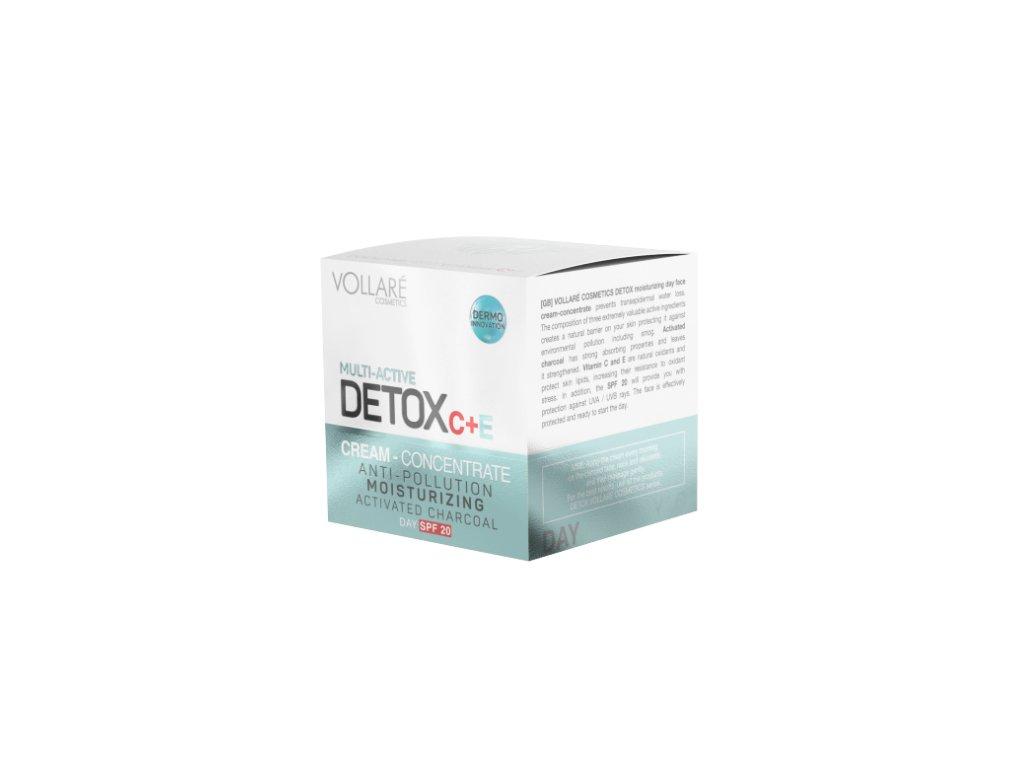 Krém na tvár detox denný - 50ml VOLLARE