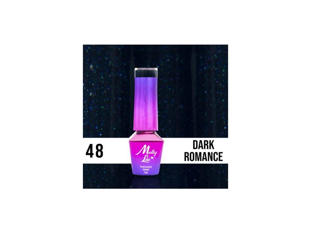 GEL LAK Molly Lac ELITE WOMEN DARK ROMANCE 5ml Nr 48