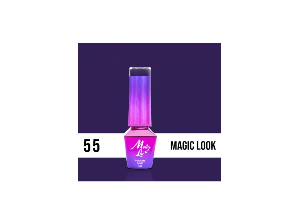 GEL LAK Molly Lac INSPIRED BY YOU MAGIC LOOK 5ml Nr 55