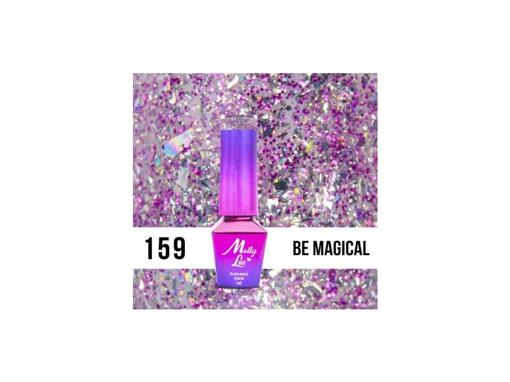 GEL LAK Molly Lac Molly Lac Gem & Silver Be Magical 5ml Nr 159