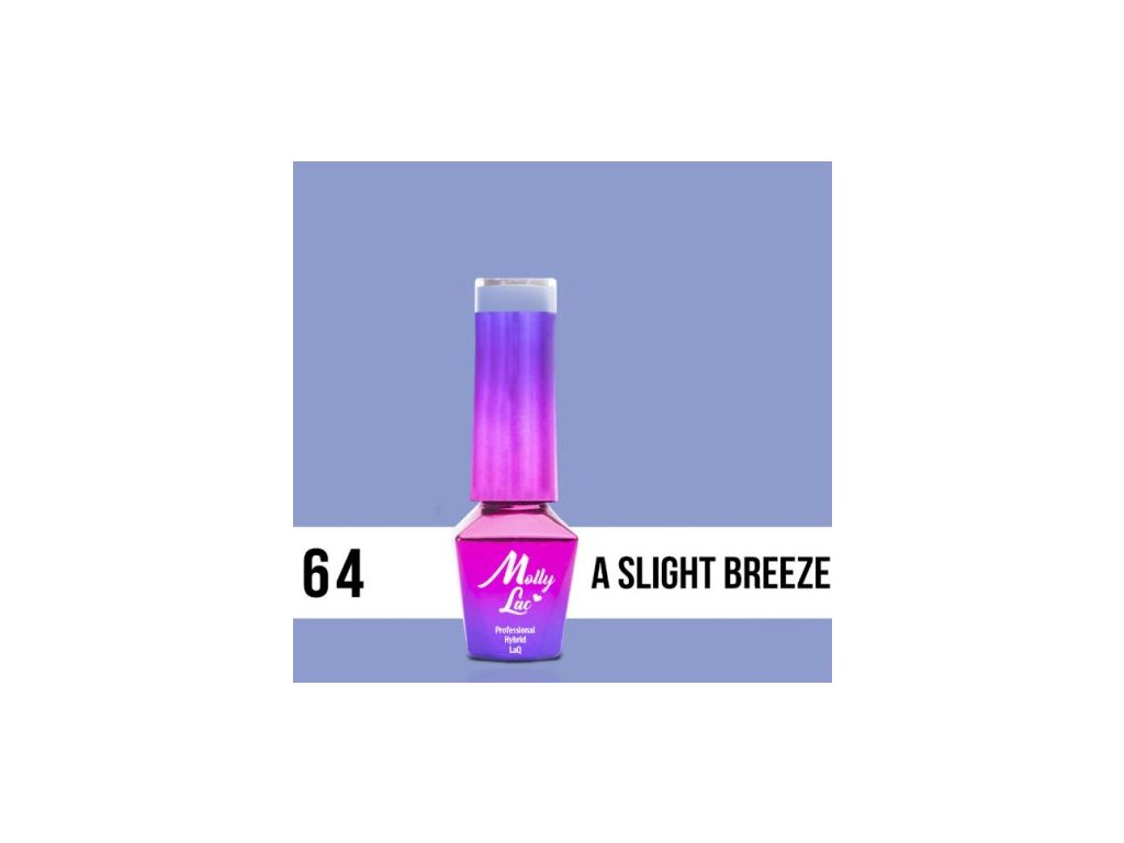 GEL LAK Molly Lac A SLIGHT BREEZE 5ml Nr 64