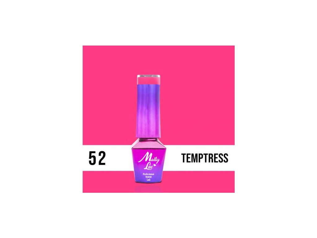 GEL LAK Molly Lac INSPIRED BY YOU TEMPTRESS 5ml Nr 52