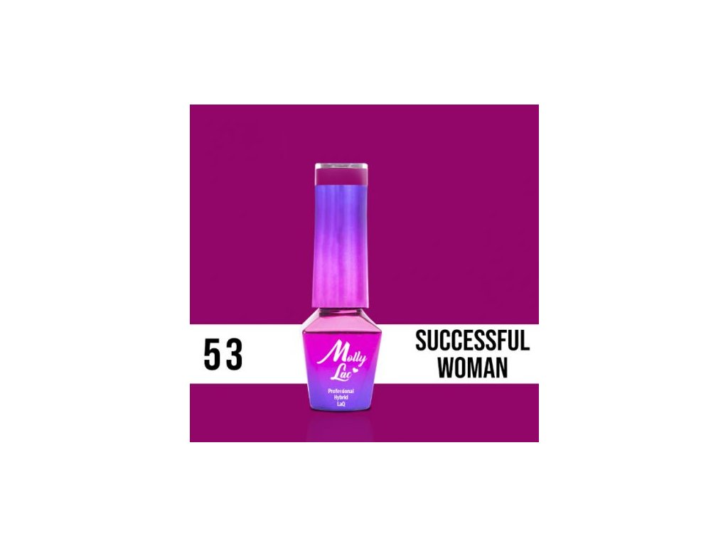 GEL LAK Molly Lac INSPIRED BY YOU SUCCESSFUL WOMAN 5ml Nr 53