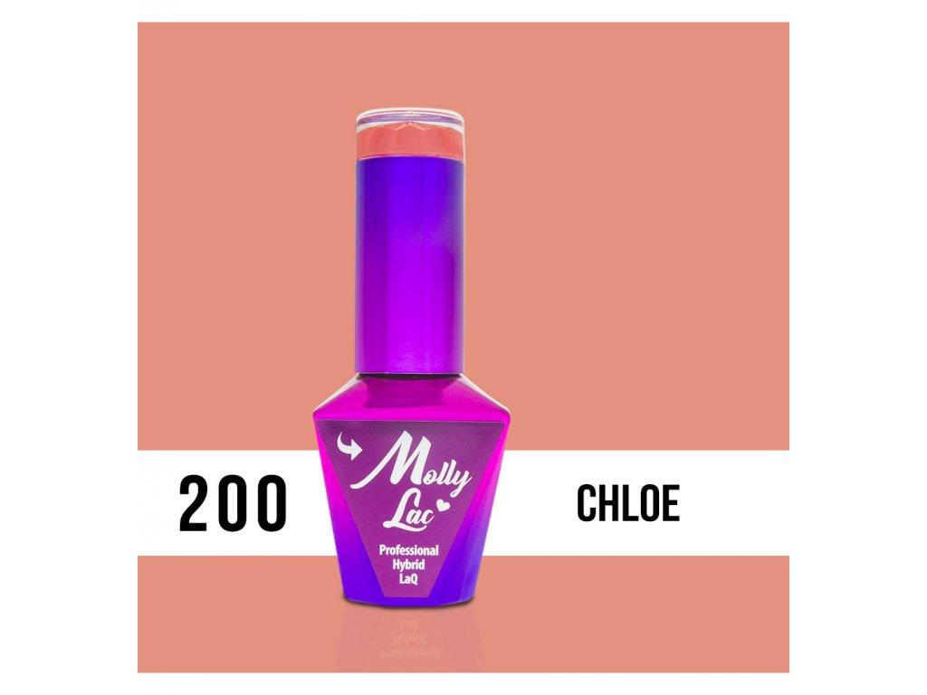 200 molly lac gel lak chloe 5ml