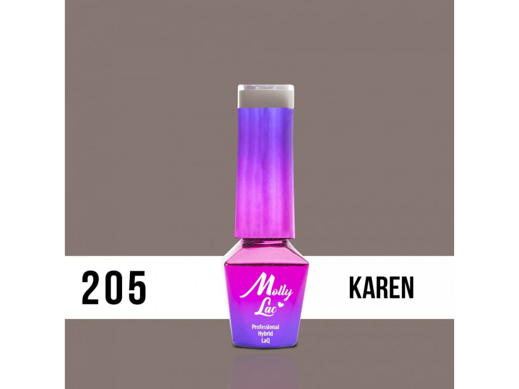 205. MOLLY LAC gél lak - Karen 5ml