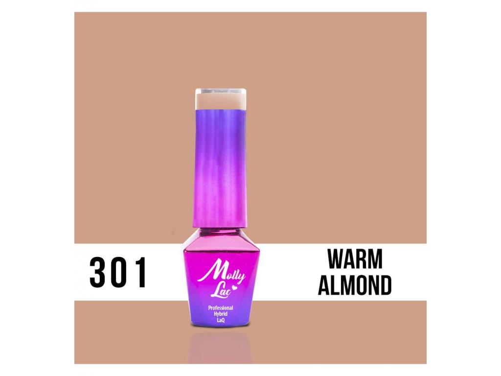 301 molly lac gel lak warm almond 5ml