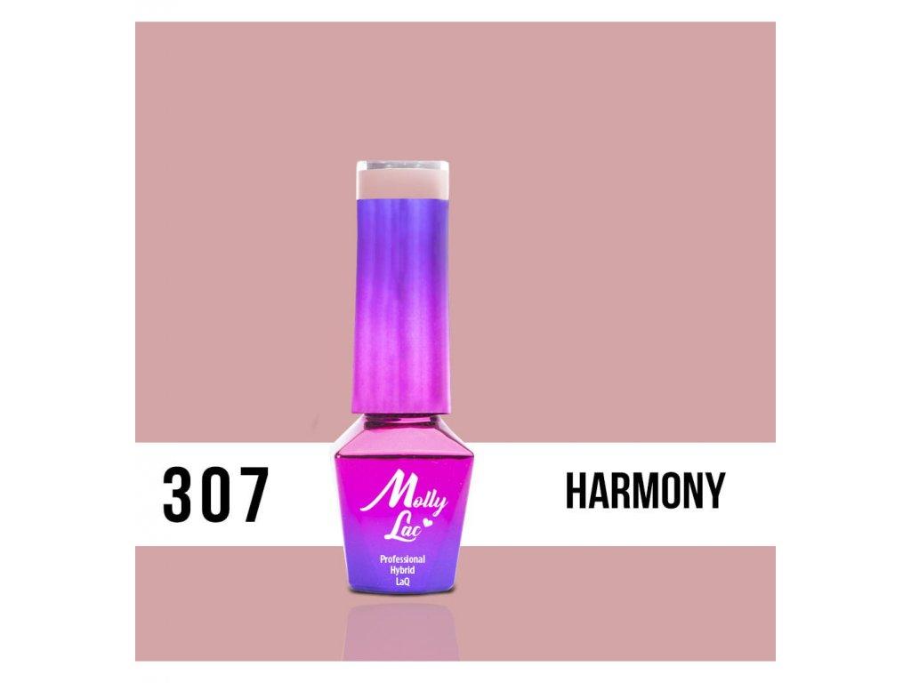 307 molly lac gel lak harmony 5ml