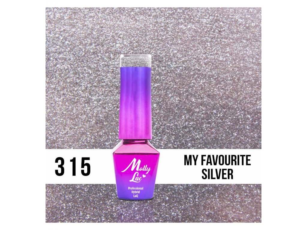 315 molly lac glitrovy gel lak my favourite silver 5ml (1)