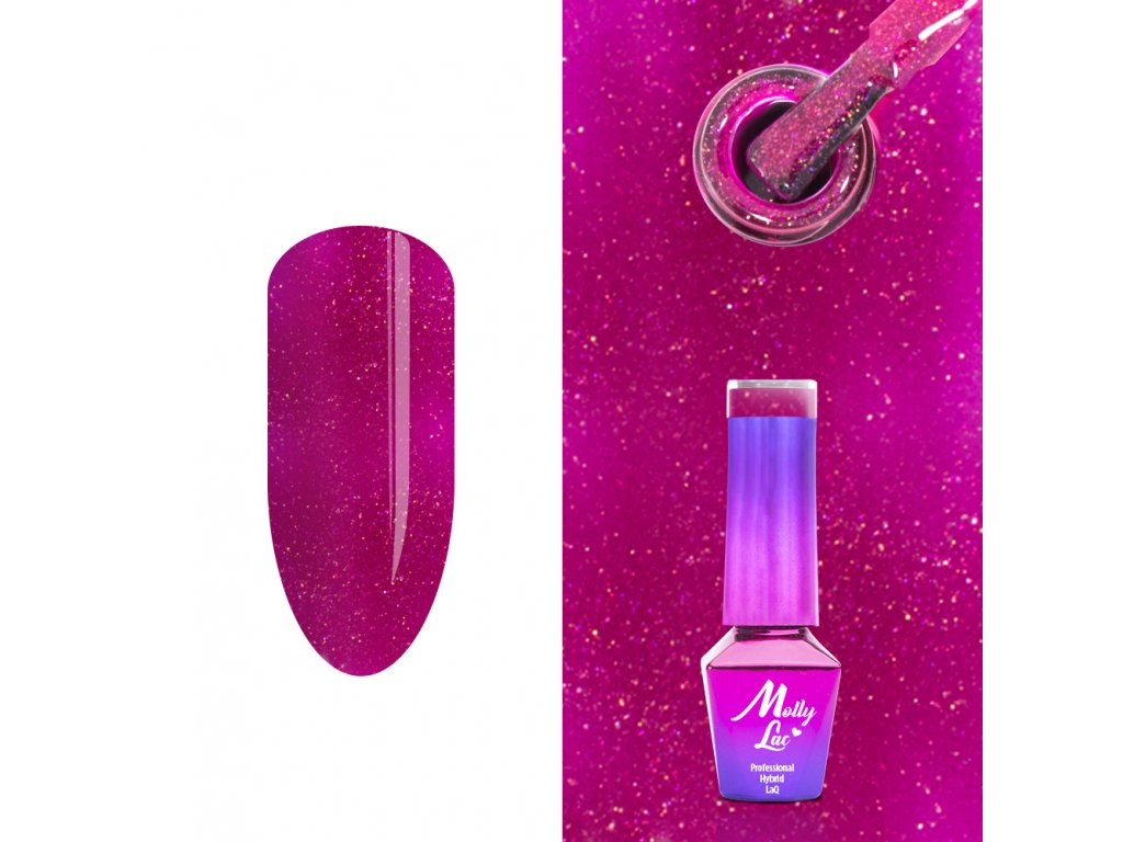 Hybridný lak Molly Lac Glowing time Fortune Teller 5ml No. 232