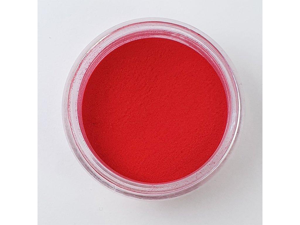 Akrylový prášok červený 5g