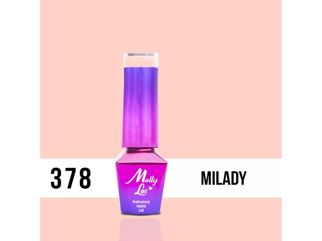 lakier hybrydowy molly lac pin up girl milady 5ml nr 378