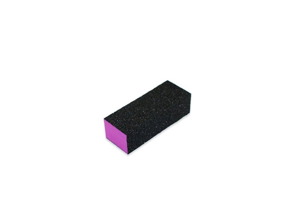 Blok na nechty 3 stranný fialový