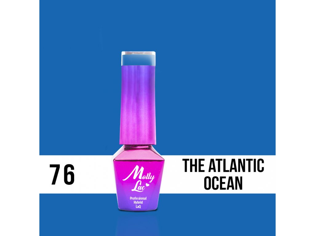 lakier hybrydowy molly lac women in paradise the atlantic ocean 5ml nr 76