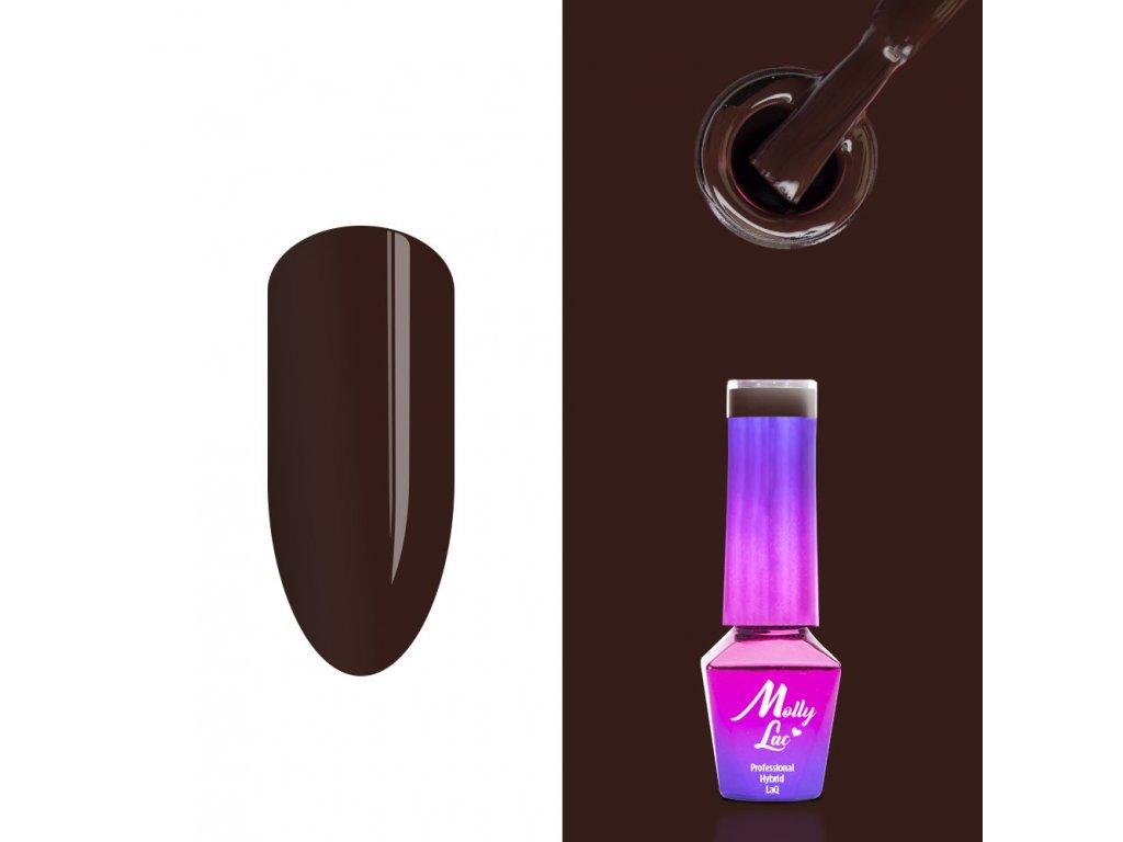 lakier hybrydowy molly lac choco dreams cocoa cookie 5ml nr 358