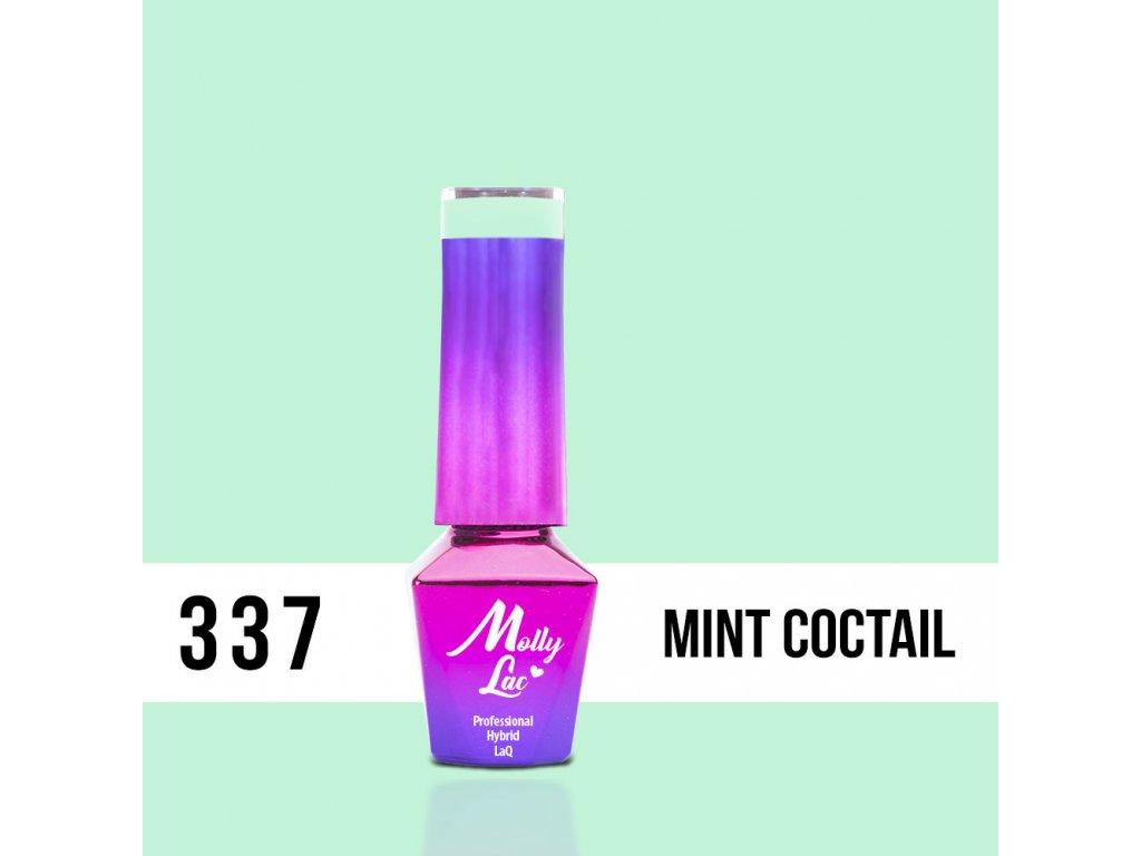 lakier hybrydowy molly lac fancy fashion mint coctail 5ml nr 337 (1)