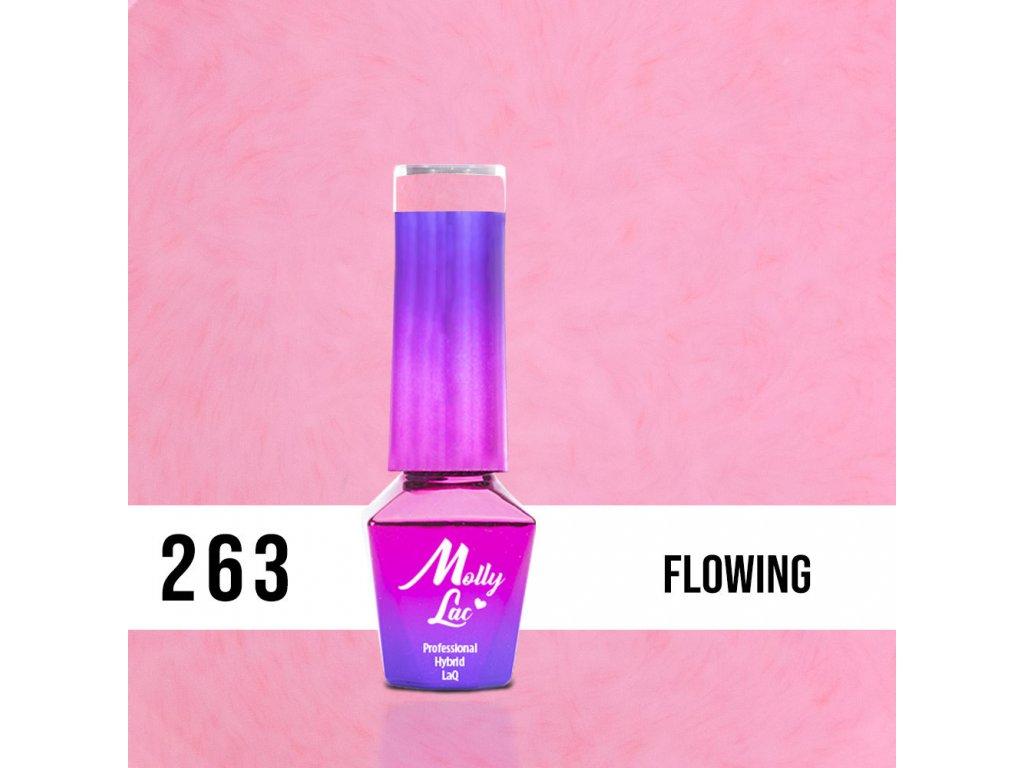 lakier hybrydowy molly lac pupils flowing 5ml nr 263 (1)