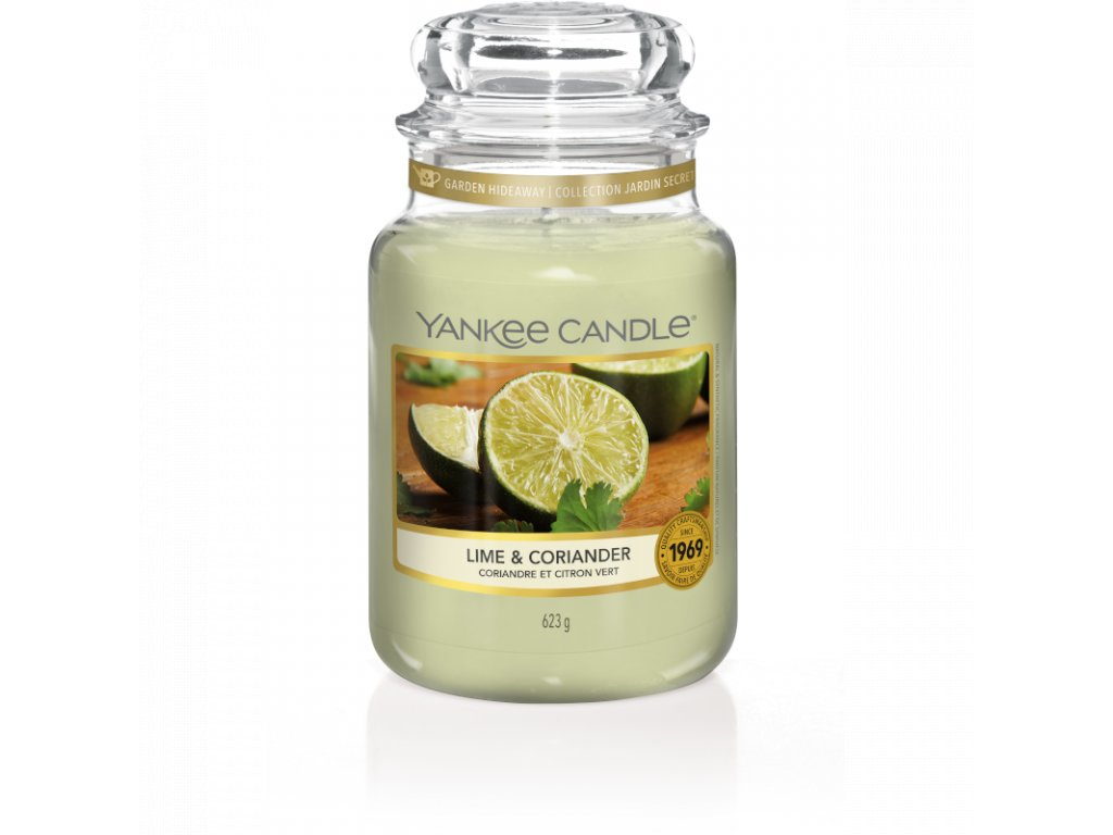 YC 1651382E Large Jar Garden Hideaway Lime and Coriander 800x800