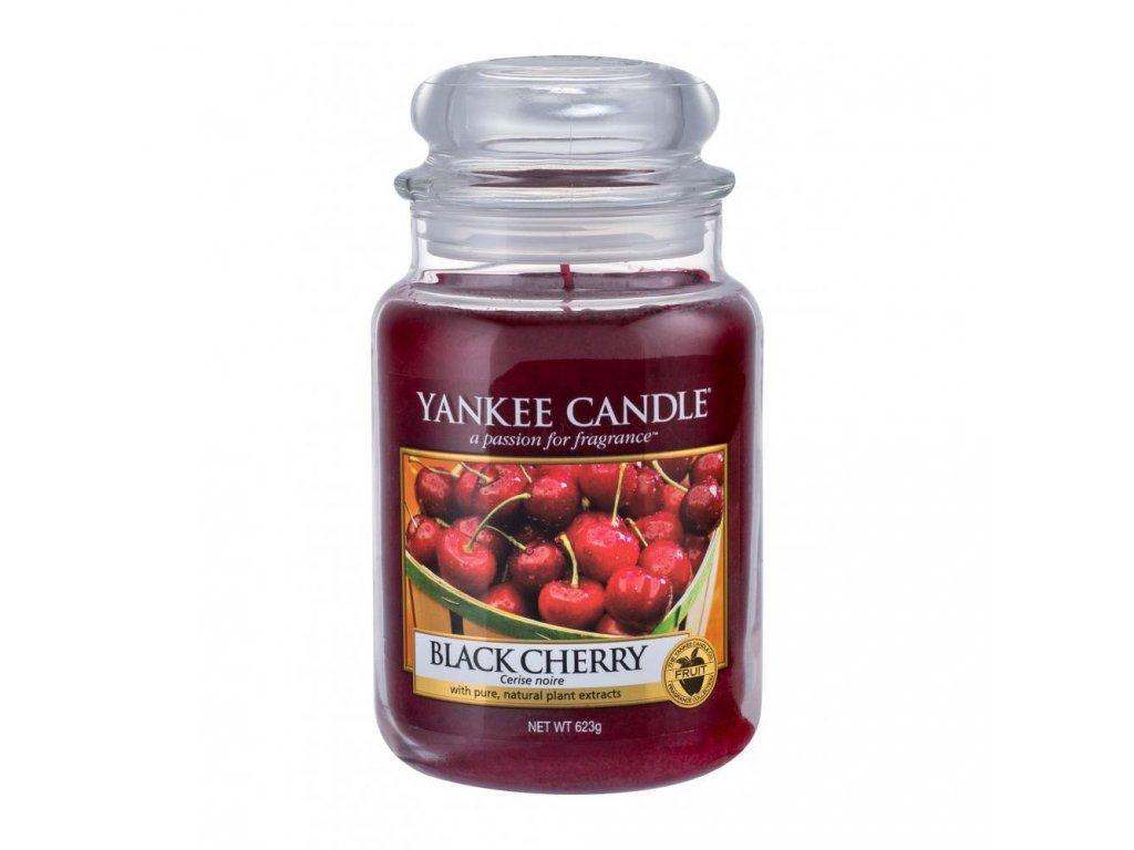 yankee candle black cherry vonna sviecka 623 g 300669