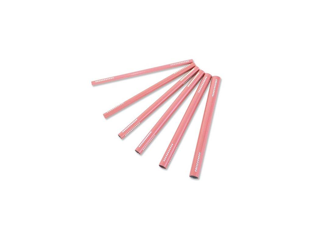 Ružové pinčovacie trubičky 6 ks