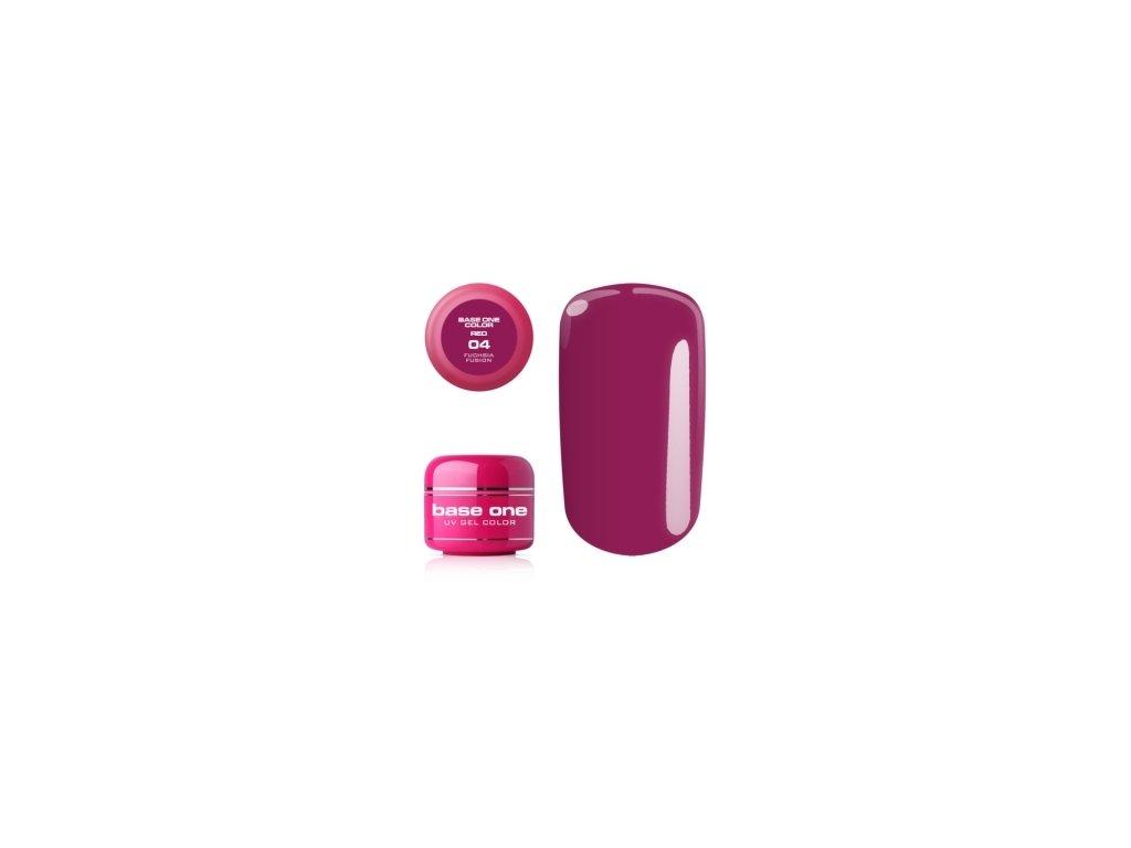 Silcare farebný uv gél 5ml - Red colection 4
