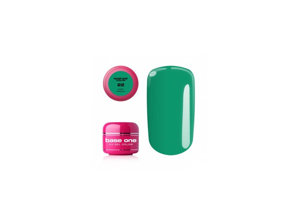 Silcare farebný uv gél 5ml - noname mint green 22