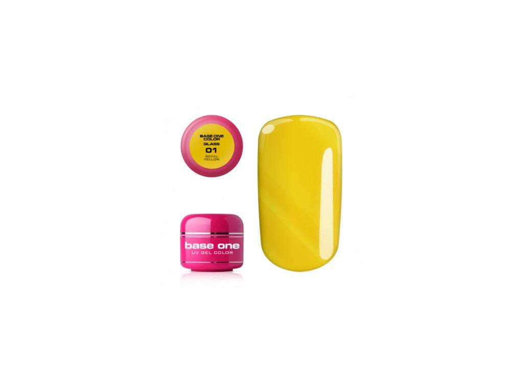 Silcare farebný uv gél 5ml - noname royal yellow 01