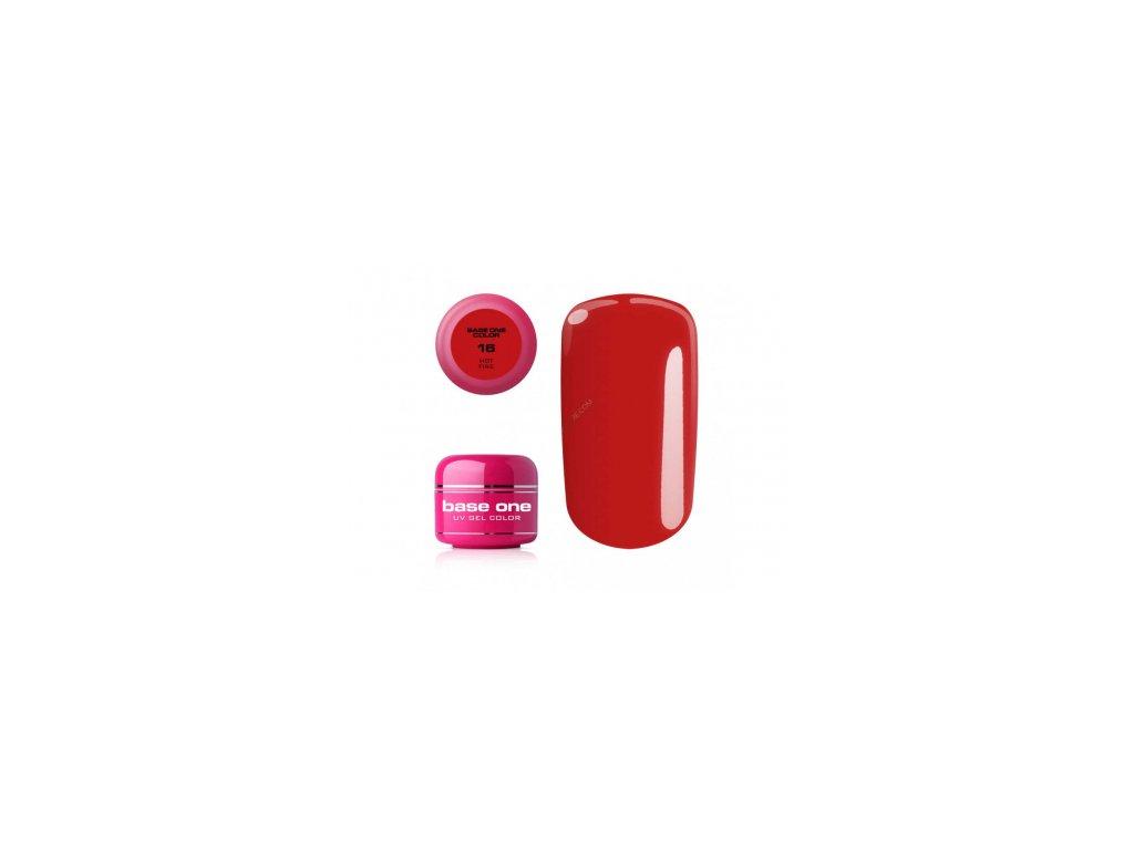 Silcare farebný uv gél 5ml - noname hot fire 16