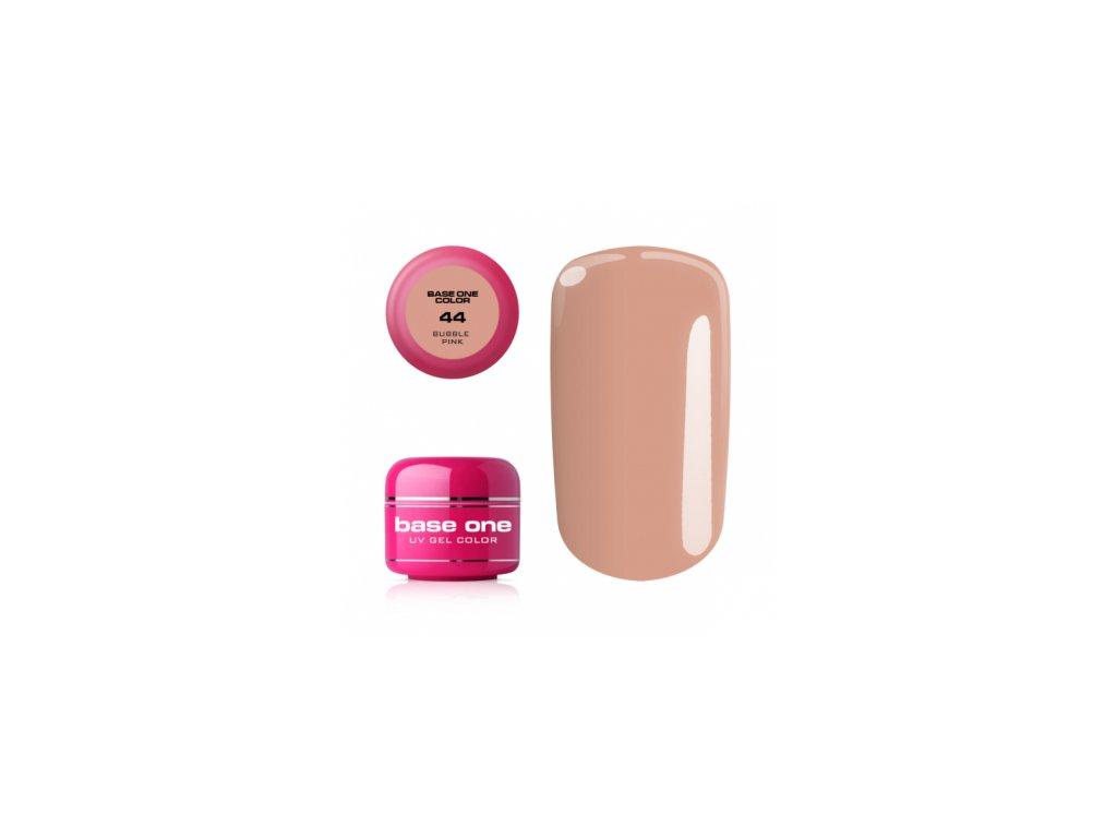 Silcare farebný uv gél 5ml - base one buble pink 44