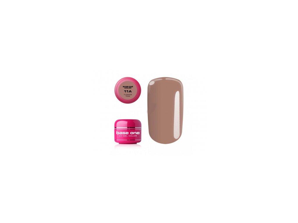Silcare farebný uv gél 5ml - base one flaming pink 11a