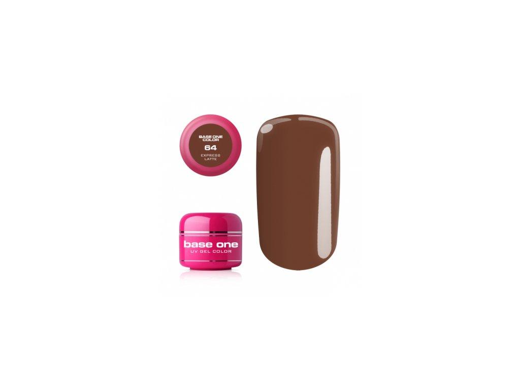 Silcare farebný uv gél 5ml - base one express latte 64