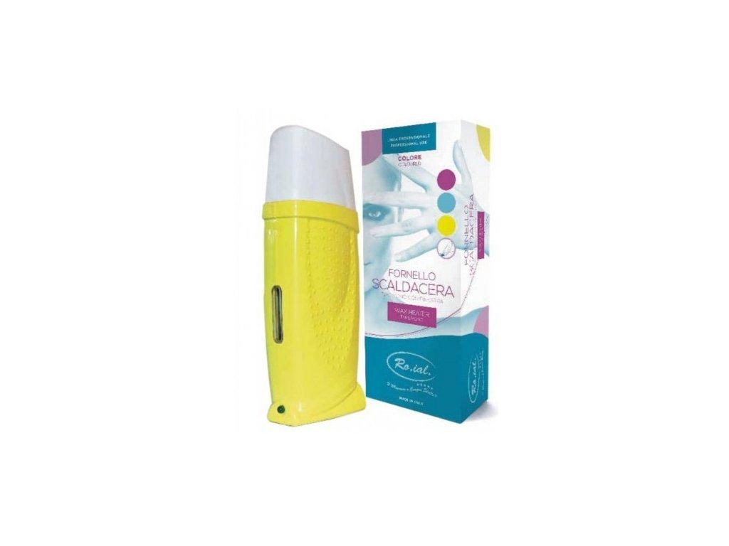Depilátor - Ohrievač voskov Žltý ITALY