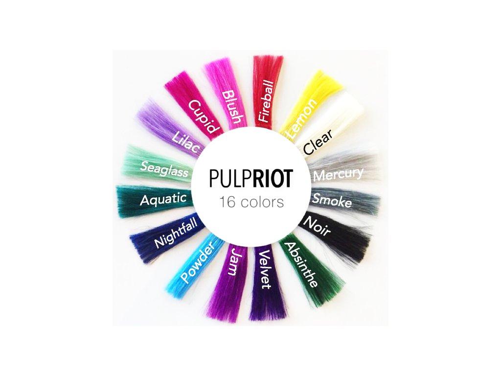 Pulp Riot Velvet - TMAVO FIALOVÁ