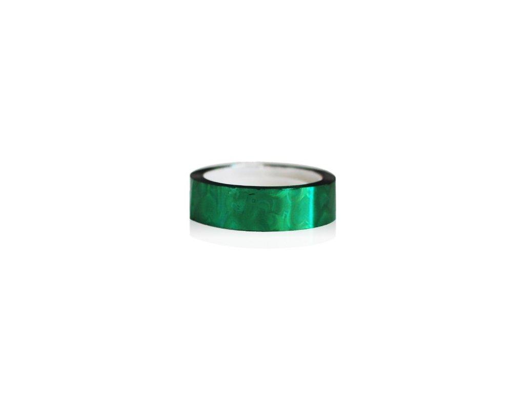 Nail art fólia zelená