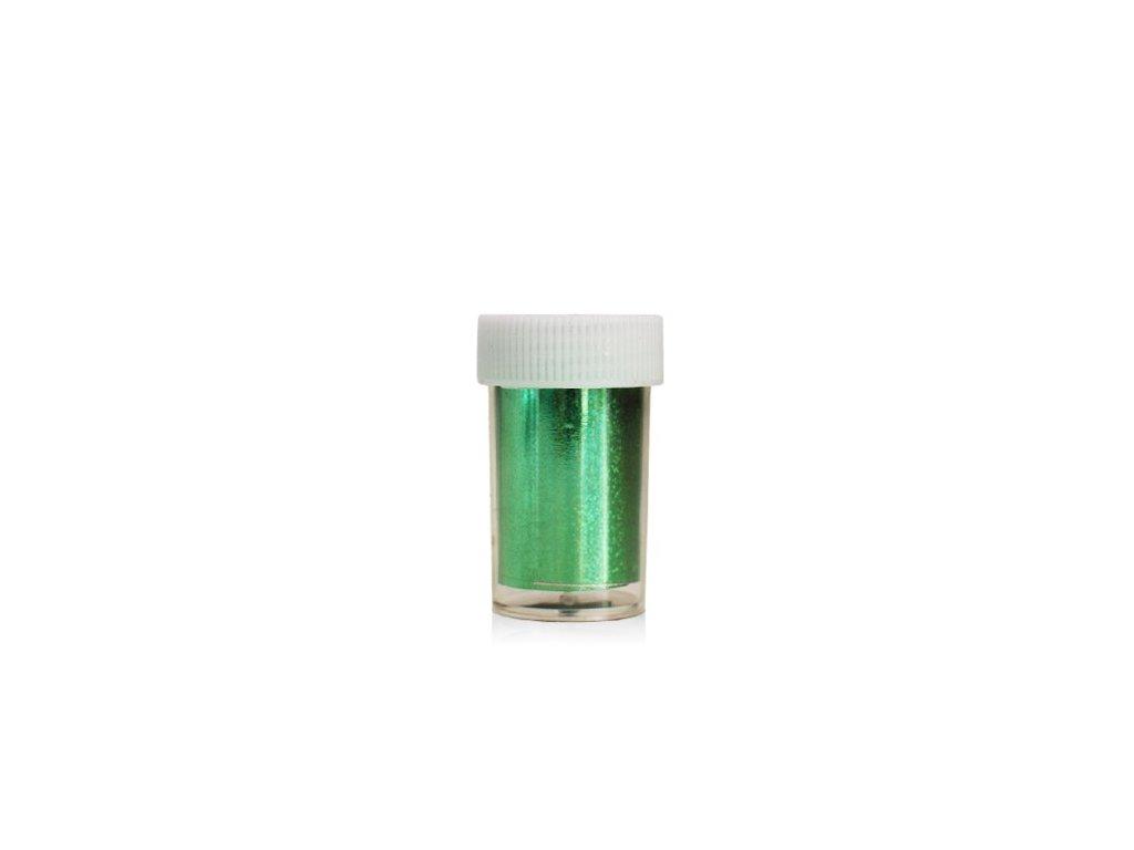 Nail art fólia 2m v nádobke Zelená 1