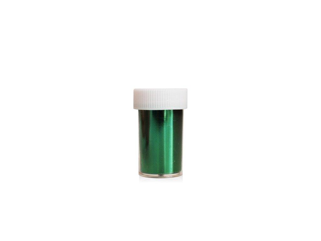 Nail art fólia 2m v nádobke Zelená 2