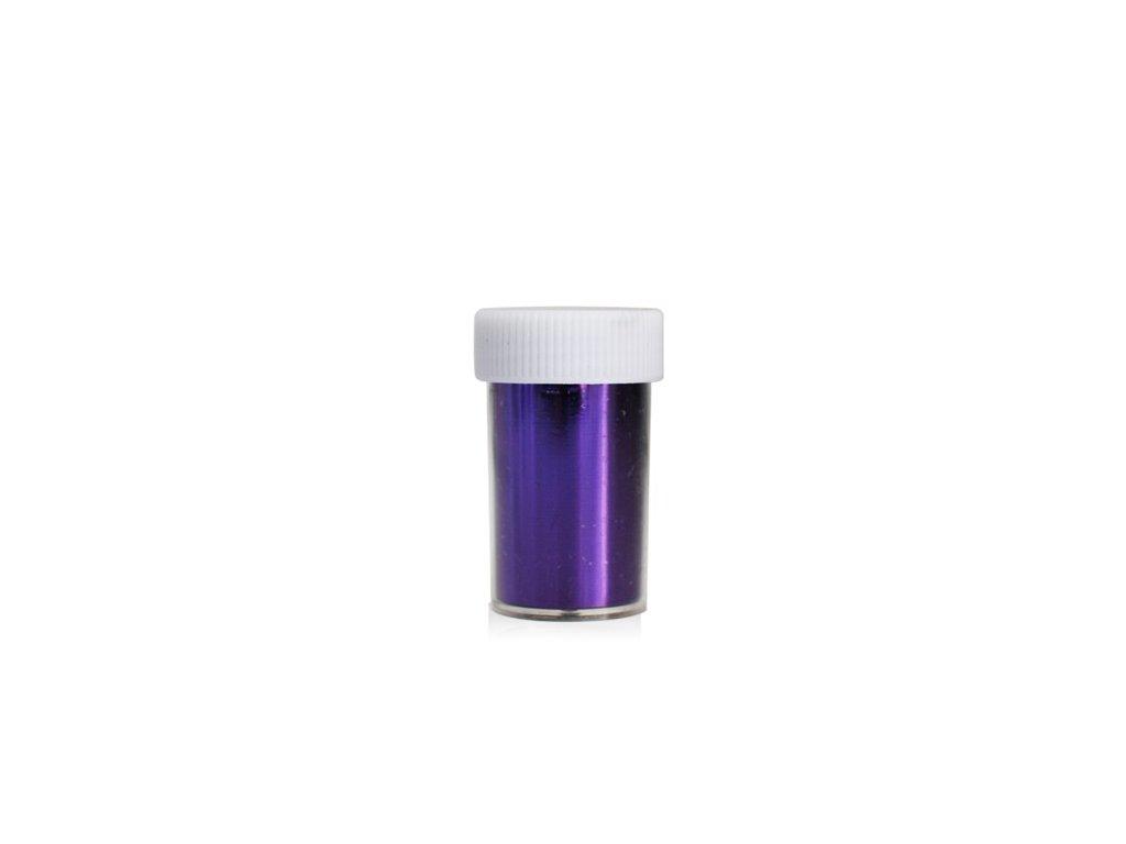 Nail art fólia 2m v nádobke fialove