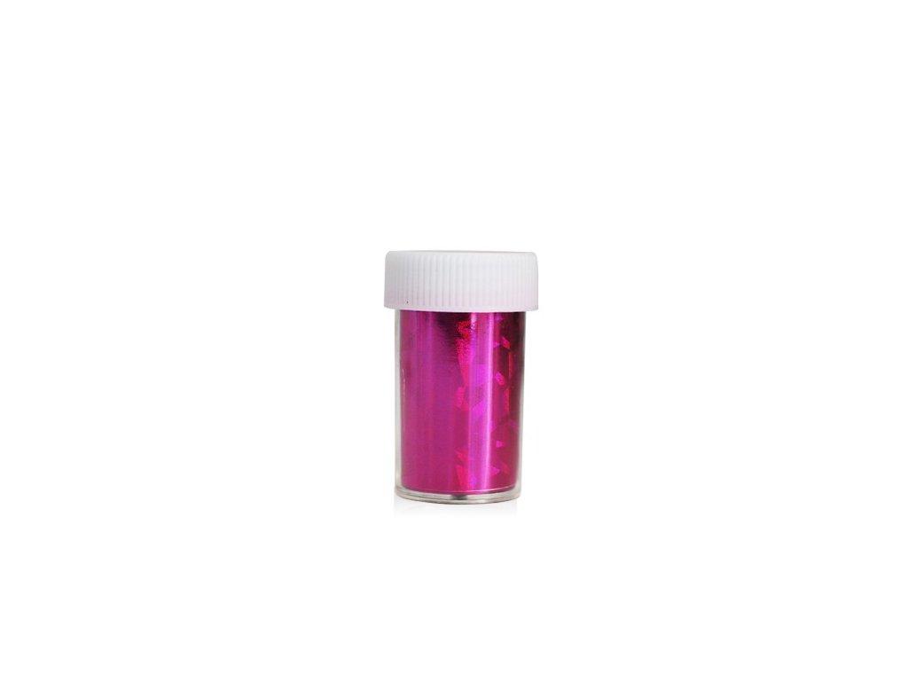 Nail art fólia 2m v nádobke ružový