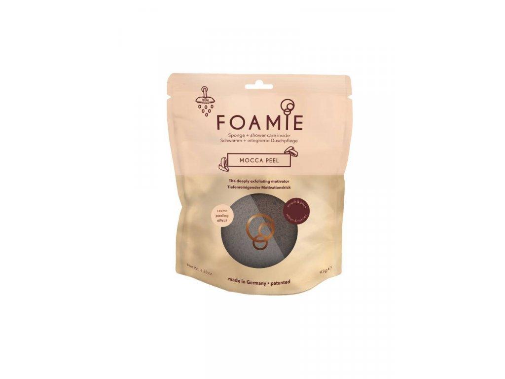 Foamie Mocca Peel - Peeling pokožky s extra dávkou motivácie