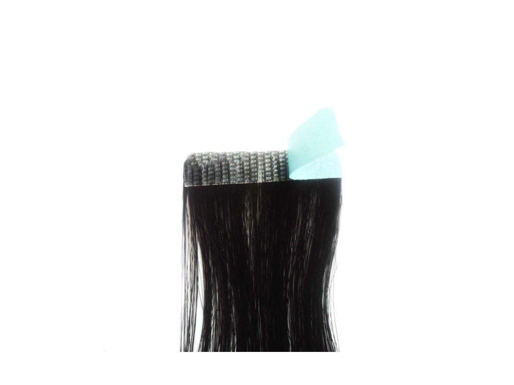 Páska na vlasy - pásiky superhair TAPE 12ks