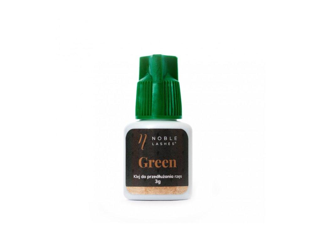 Lepidlo na mihalnice GREEN  3ml