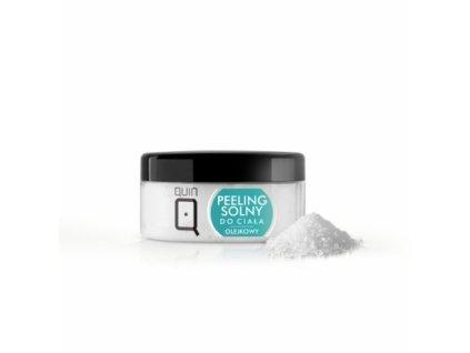 Cukrový peeling na telo - 300ml - olej + soľ Silcare