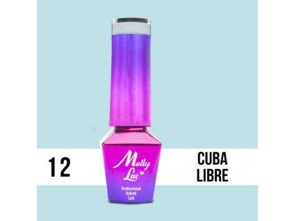 GEL LAK Molly Lac - Cocktails & Drinks - Cuba Libre 5ml Nr 12