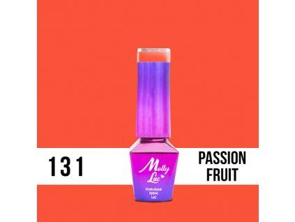 GEL LAK Molly Lac Bubble Tea Passion Fruit 5ml Nr 131