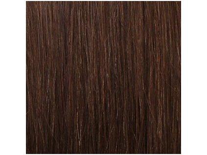 Exkluzívne clip in vlasy - odtieň 6 dlhé 50cm váha vlasov 100g