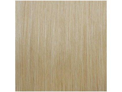 Exkluzívne clip in vlasy - odtieň 22 dlhé 50cm váha vlasov 100g